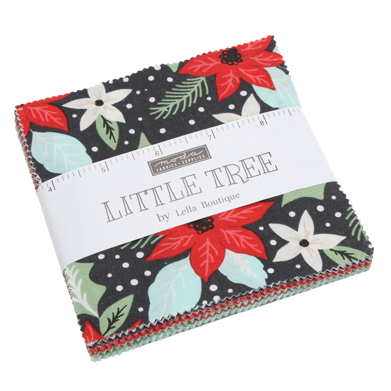 Little Tree Charm Pack by Lella Boutique | Moda Fabrics
