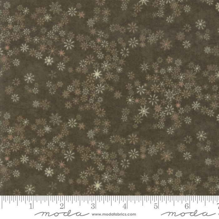 Frosted Cypress Flannel - Flower 6784 12F