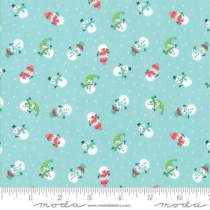 Snow Day Lil Snowman Aqua 209