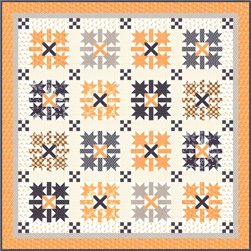 All Hallows Eve - Boxed Quilt Kit (69 x 69)