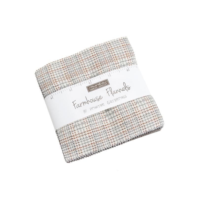Farmhouse Flannels Charm Pack