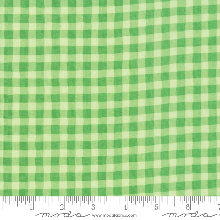 Good Day Gingham Green