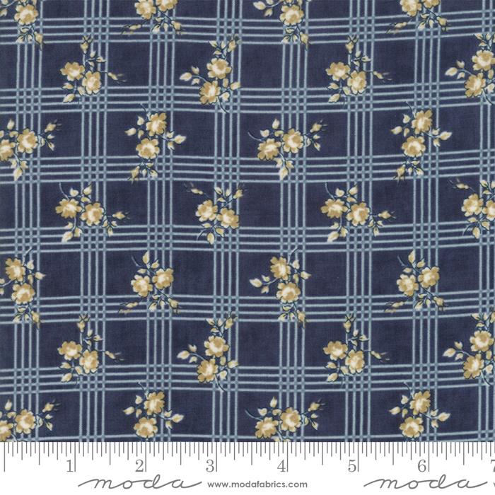 Northport Floral Plaid Prints Navy *SALE*
