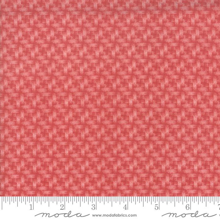 Northport Basket Weave Prints Red