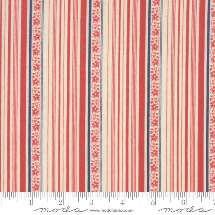 Northport Stripes  Prints Red *SALE*
