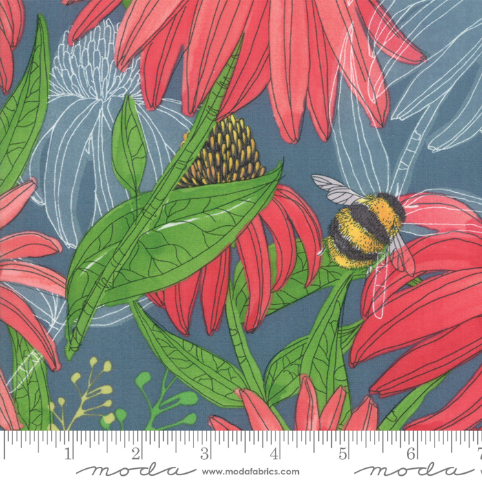 Painted Meadow Teal 48660 12