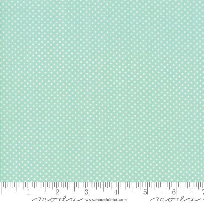 Early Bird Dots Aqua 55195 12