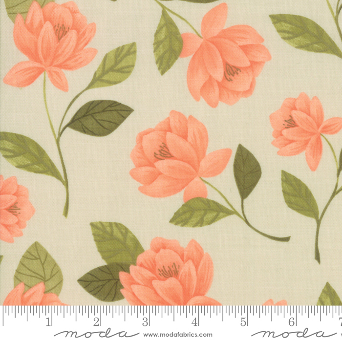 36050 15 Goldenrod Raleigh Floral Bisque