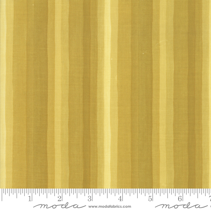 36053 17 Goldenrod Gradient Stripes Gold by One Canoe Two for Moda