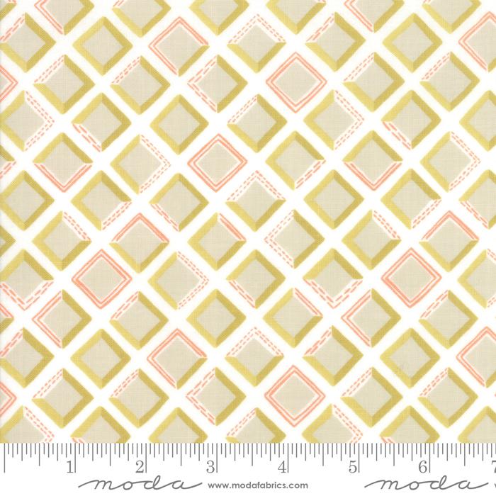 goldenrod tiles bisque white