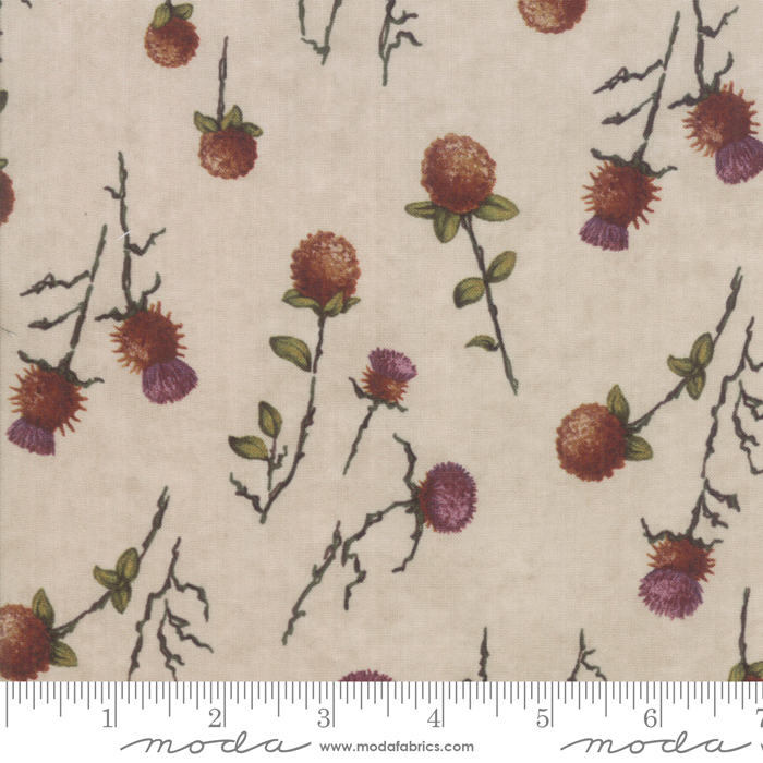 Moda - Country Charm-Thistle Clover/Tan-Oat - 6792 12