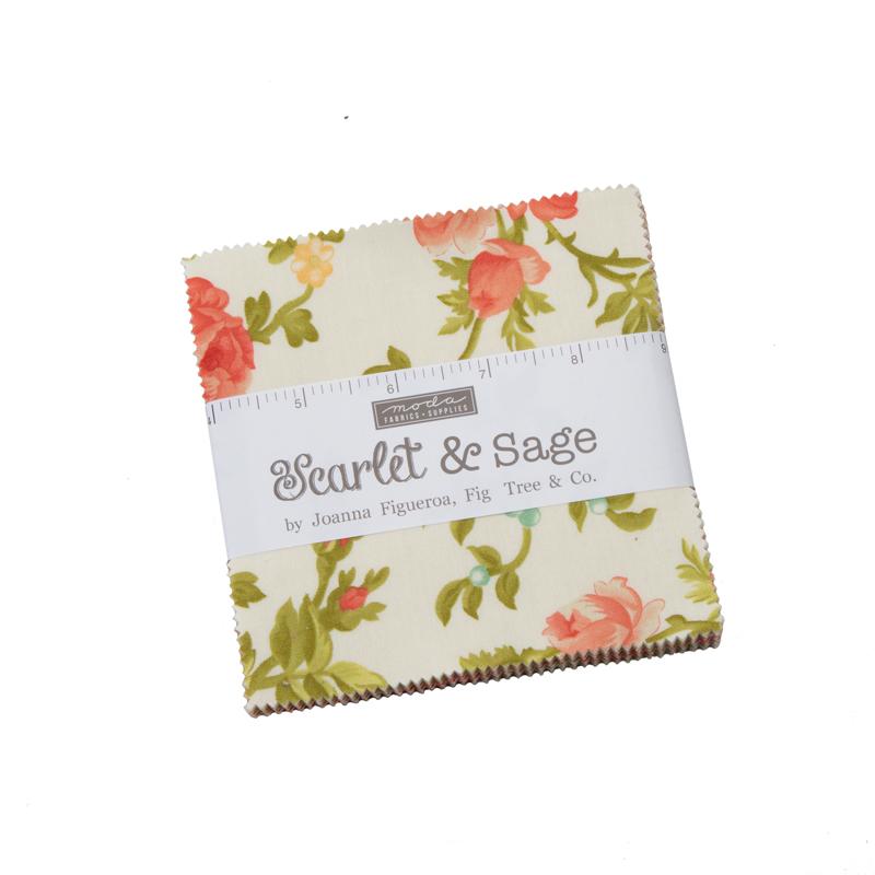 Scarlet & Sage Charm Pack