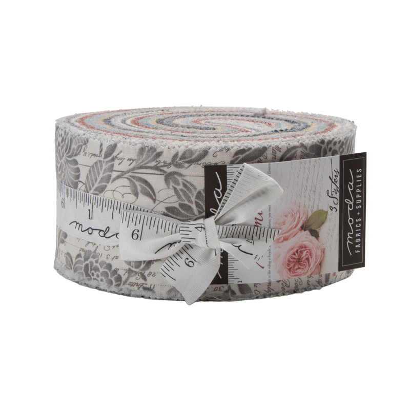 Memoirs Jelly Roll by 3 Sisters for Moda 44210JR