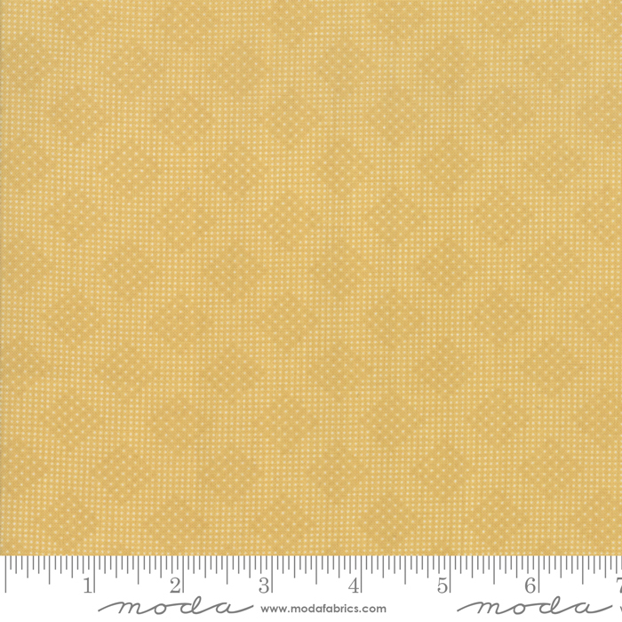 Memoirs Gold Trellis by 3 Sisters for Moda 44216-17