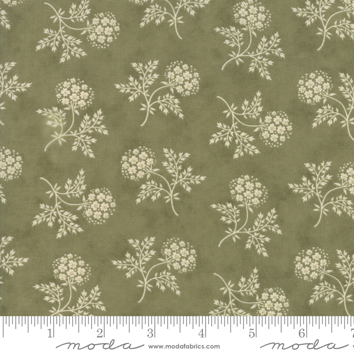 Clover Meadow Green Ivory