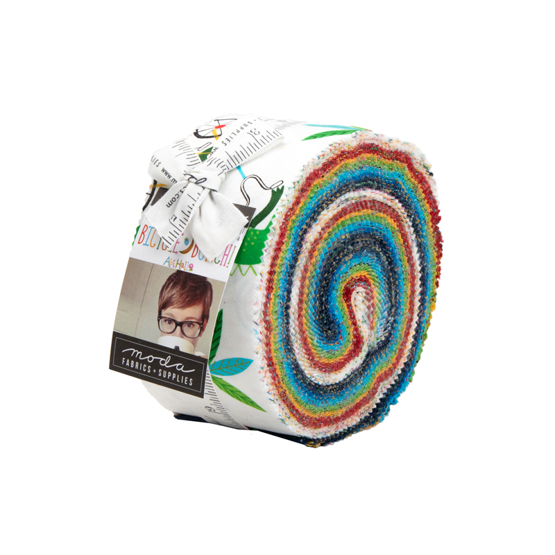 Bicycle Bunch Jelly Roll - Abi Hall - Moda