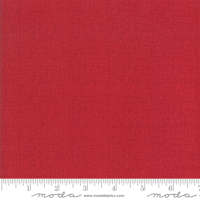 Moda Thatched 48626-119 Scarlet