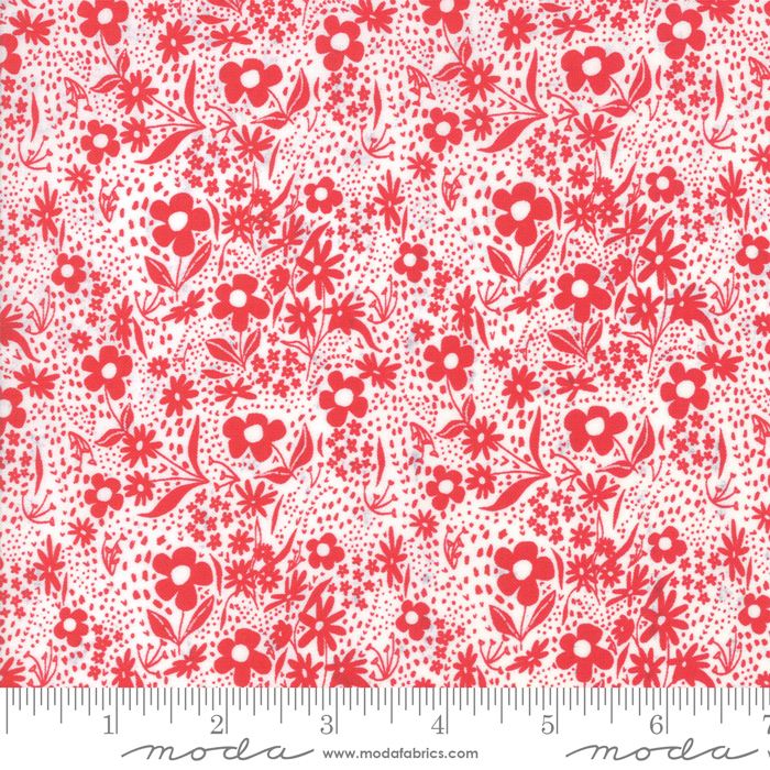 Farm Charm Cloud Rooster Red