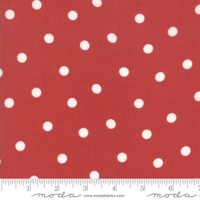 Mackinac Island - Polka Dot - Red