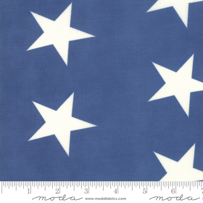 Mackinac Island Light Blue  Stars 14889 14