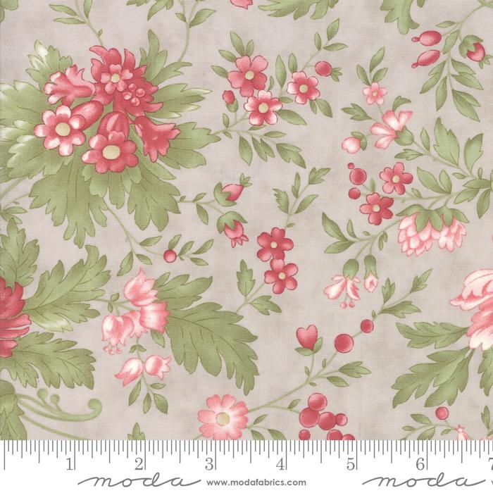 Rue 1800 Dove Large Floral