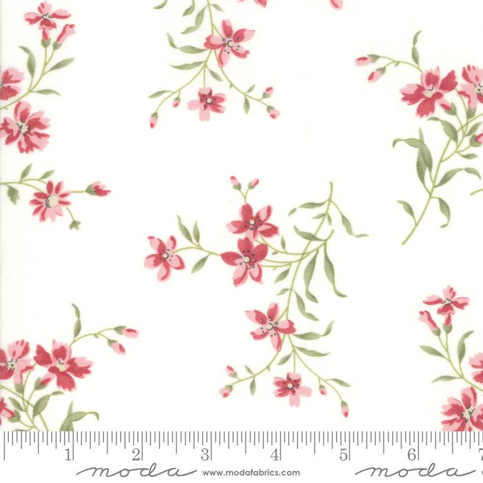 Rue 1800 -  Porcelain W/flowers