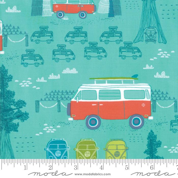 Pacific Wanderings Sea Green Vans
