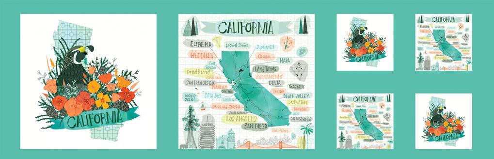 Pacific Wanderings California