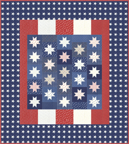 Mackinac Island - Quilt Kit - by Minick  Simpson for Moda