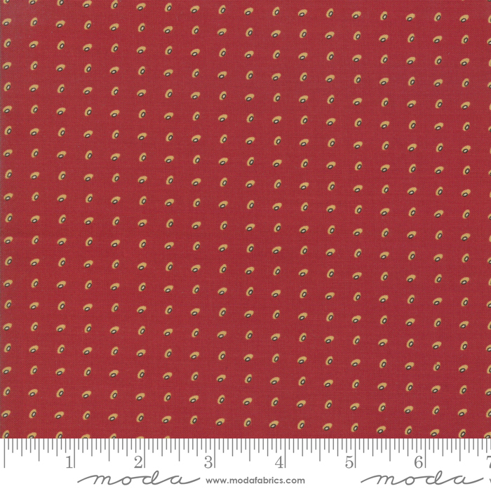 Moda Glad Tidings Turkey Red 38095 - 21 *