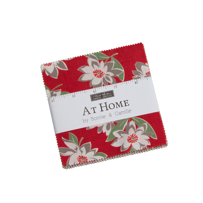 At Home Charm Pack Bonnie's Colors by Bonnie & Camille for Moda 55200PPB