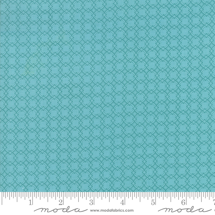 Bloomington Mini Lattice Teal