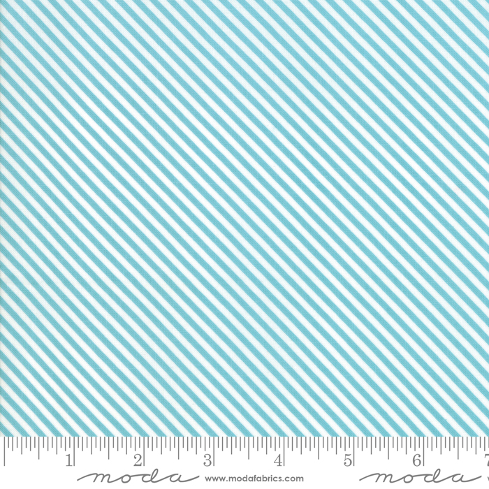Bloomington Candy Stripe Teal