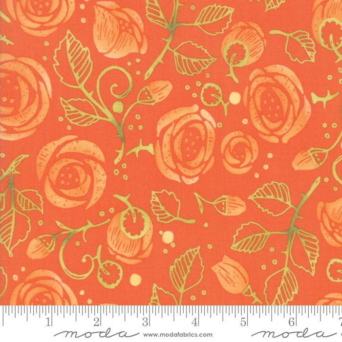 48671 13 Citrus Abby Rose by Robin Pickens Moda