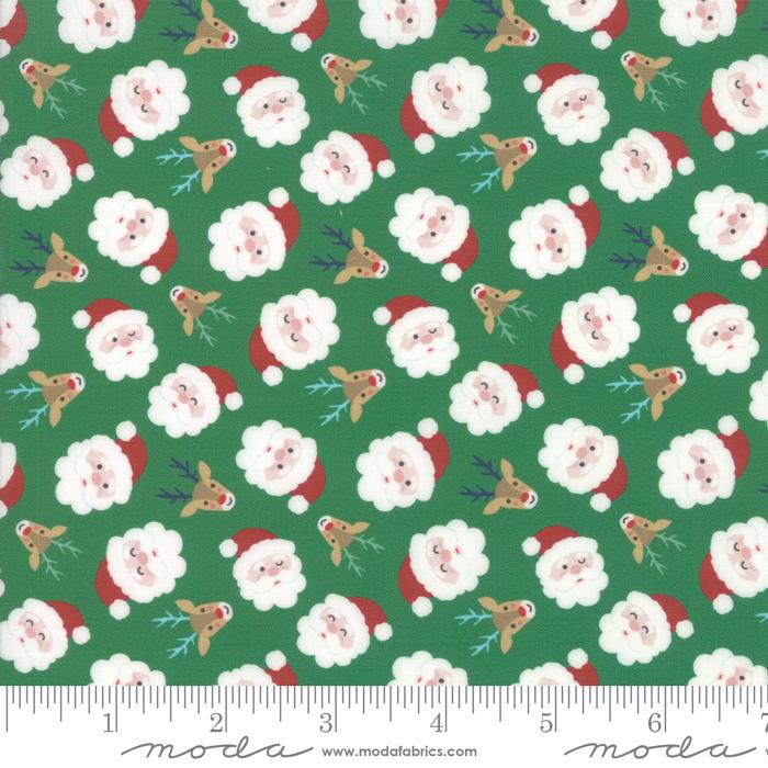 Jolly Season  Santa Face Spruce