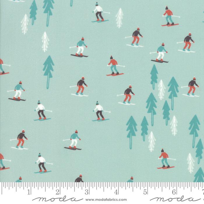 Tahoe Ski Week Alpine Ski Slope by Mara Penny for Moda 13340-14