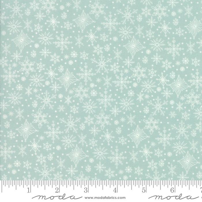 Tahoe Ski Week Alpine Snowflakes by Mara Penny for Moda 13344-14