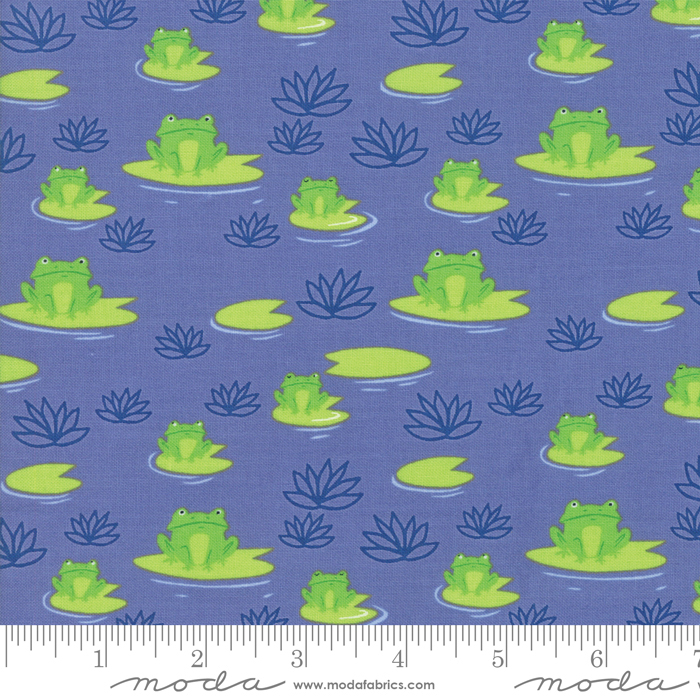 Sunday Picnic Here Froggy Periwinkle