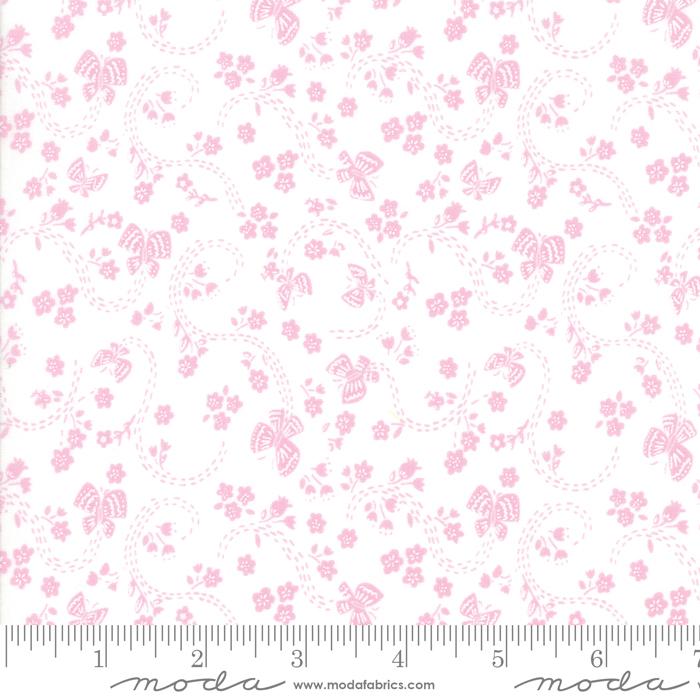 Sunday Picnic White Pink 20677 23