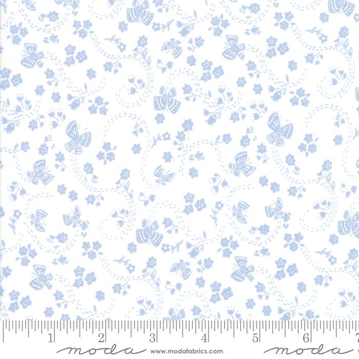 Sunday Picnic White Blue 20677 27