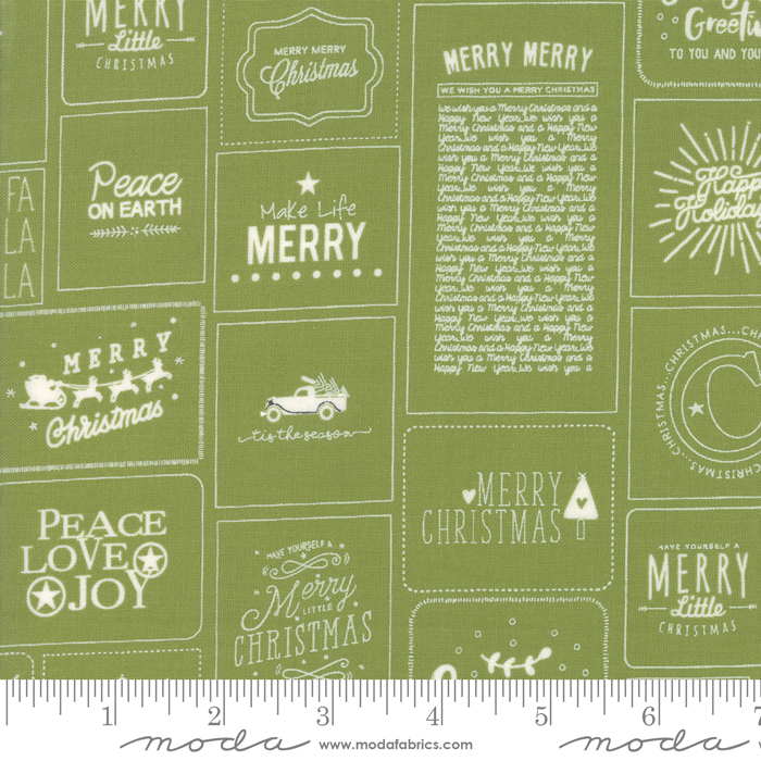 The Christmas Card 5770-22 Green