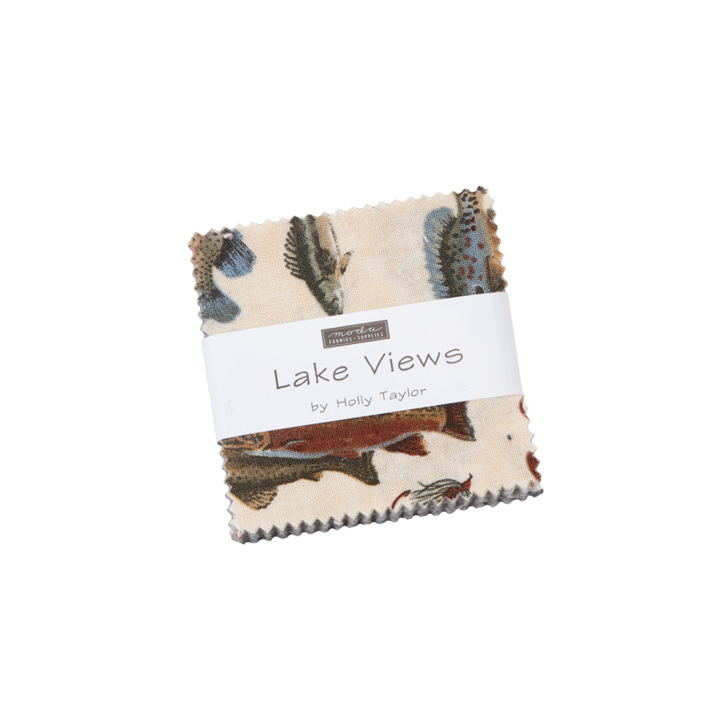 Lake Views Mini Charm by Holly Taylor - 6800MC