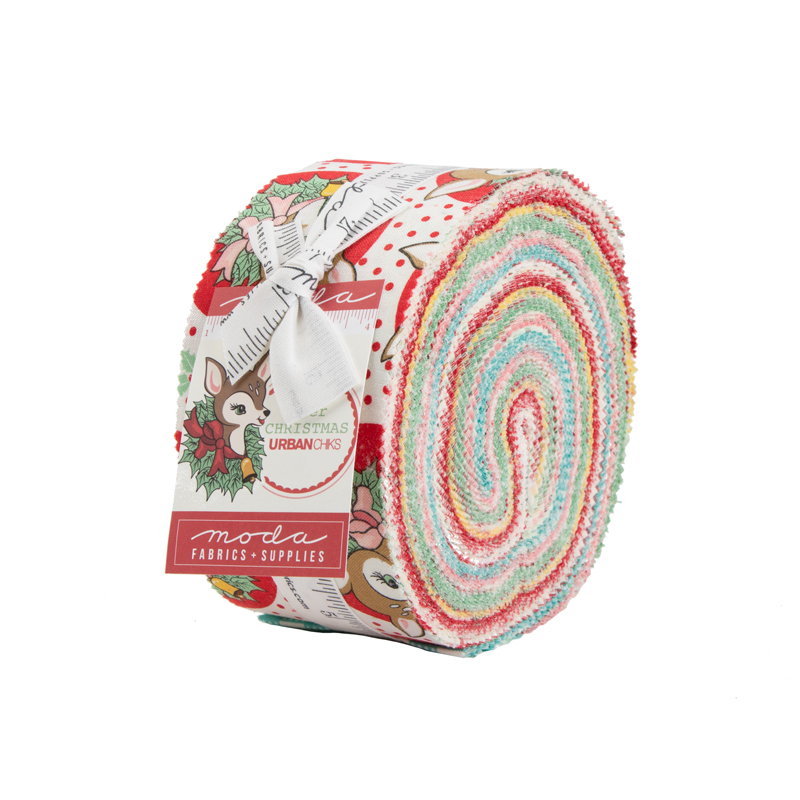 Deer Christmas Jelly Roll