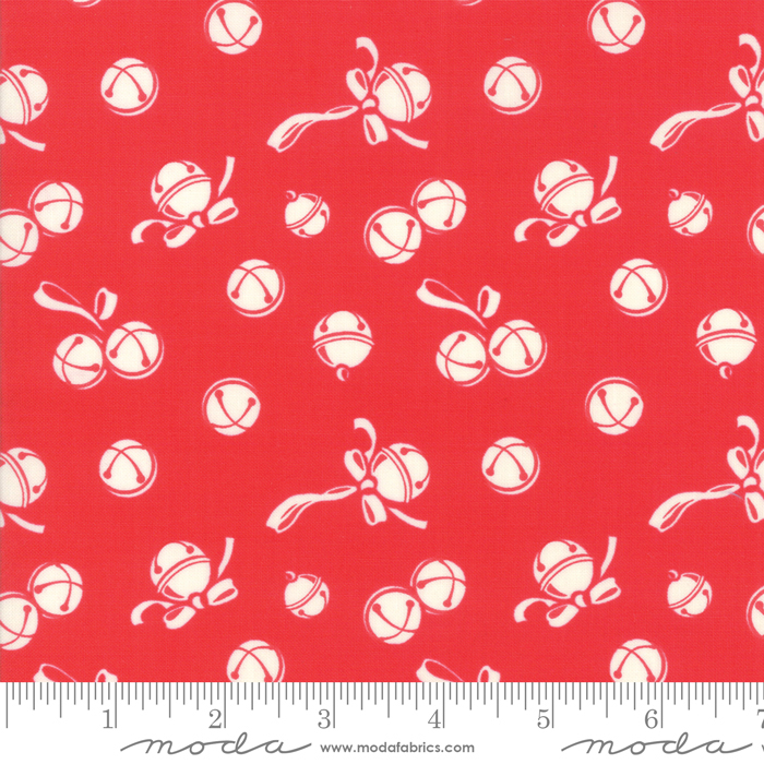 Deer Christmas Jingle Bells Peppermint