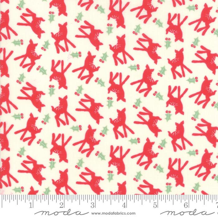 Deer Christmas Peppermint Deer