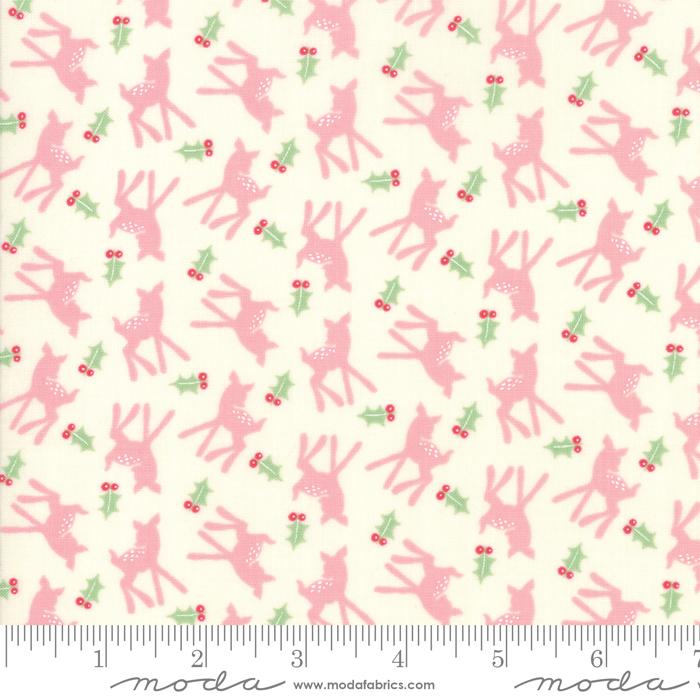 Deer Christmas Pink Buttermint Deer