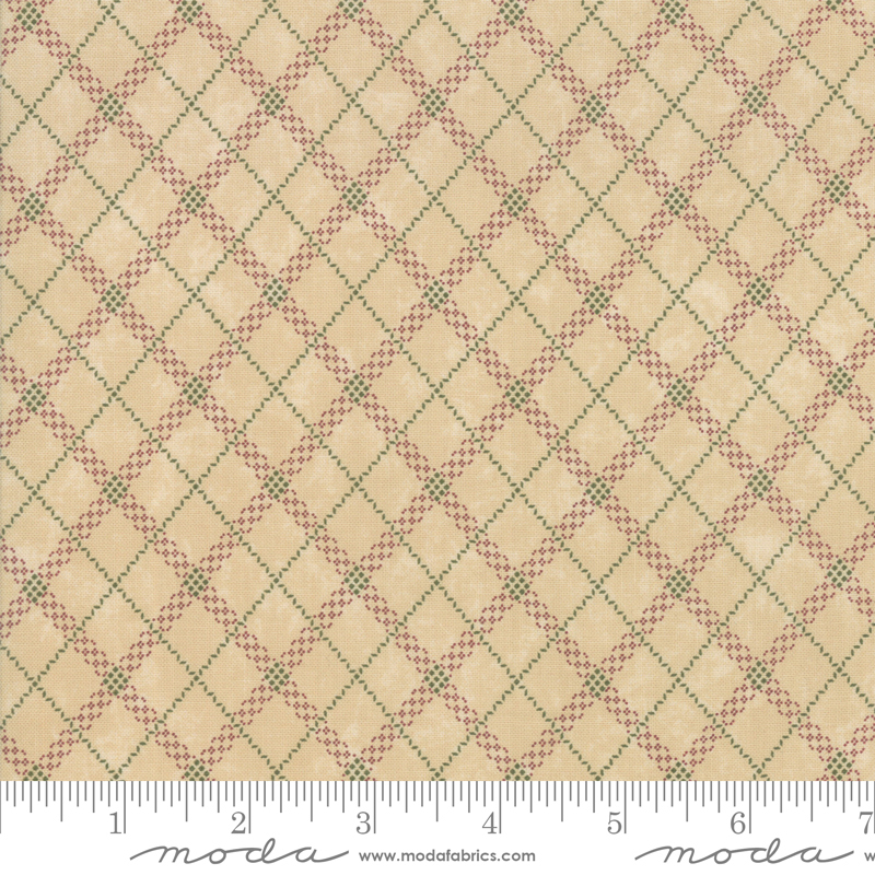 Sweet Holly Gift Wrap Plaid