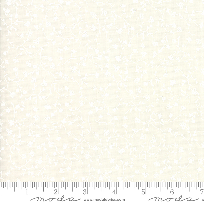 Branded Cream Wildflowers by Sweetwater for Moda 5787-14