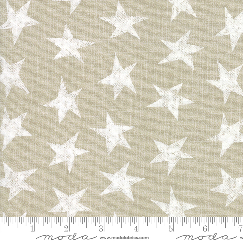54 Branded Canvas Star Khaki