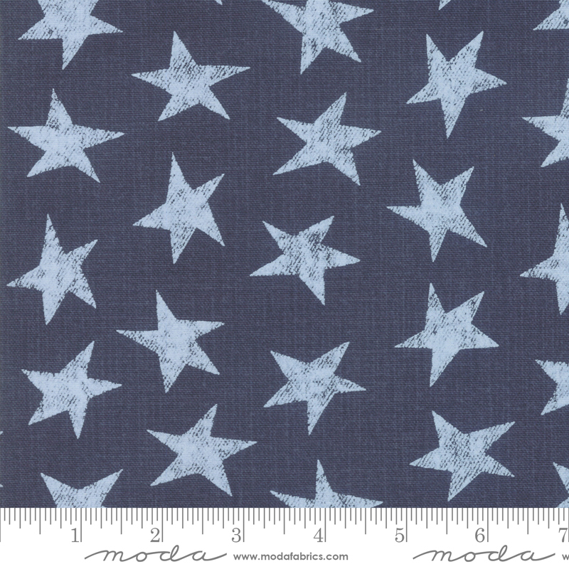 Branded 54 inch wide Star Denim Canvas By Sweetwater